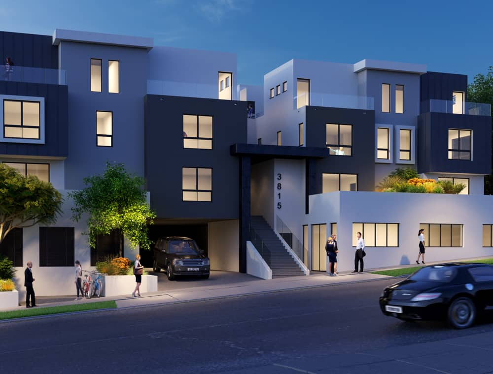 Eagle Rock Property Rendering in Wide Format