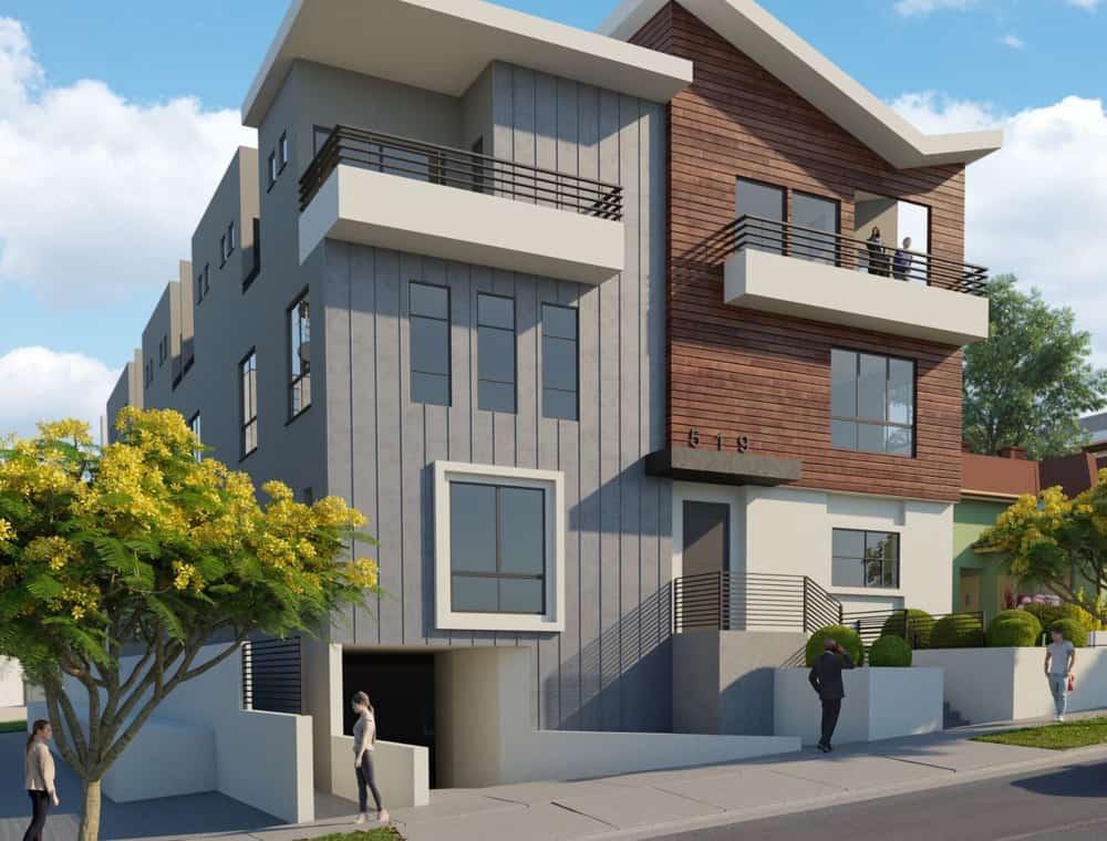 Normandie II Property Rendering in Wide Format